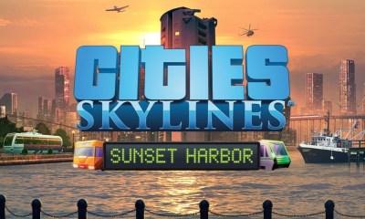 Sunset Harbor é o mais novo DLC que acaba de ser lançado para o game Cities Skylines e adiciona uma gama de muitas possibilidades.