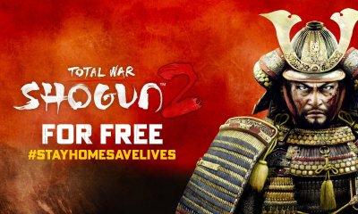 Total War: Shoung 2 ficará grátis na Steam por tempo limitado, mas os jogadores que baixarem o game poderão ficar com ele para sempre.