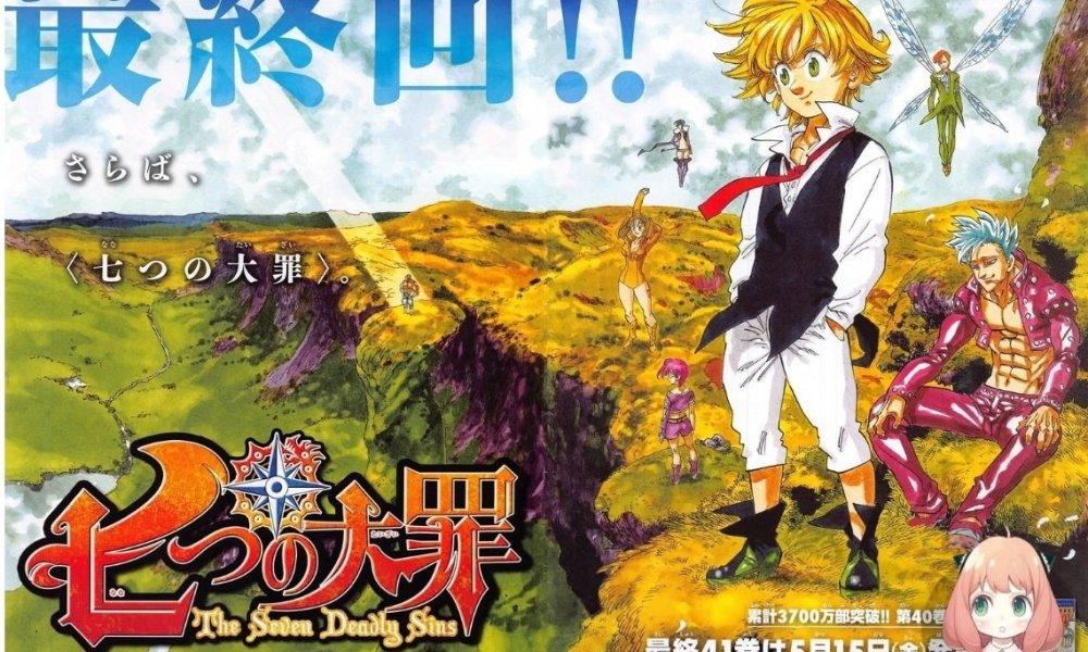 O mangá de Nanatsu no Taizai chegou a fim, e com ele a vida de um dos personagens que mais foi amado e favoritado pelos fãs da série.