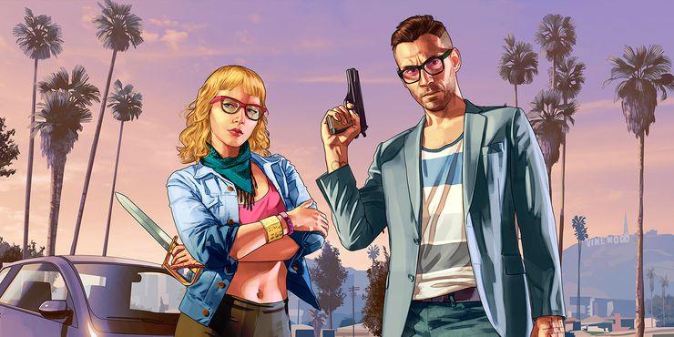 Dois protagonistas com uma história romântica poderia ser algo bem diferente para um futuro GTA 6!