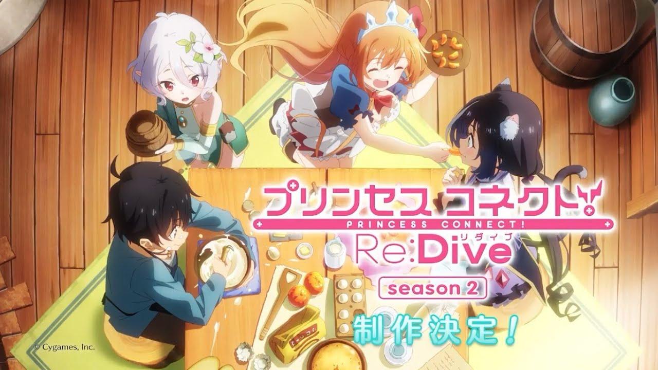 Princess Connect! Re: Dive | Anunciada segunda temporada - Viciados