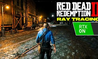 VOCÊ NÃO VAI ACREDITAR EM COMO FICA RED DEAD 2 COM RAY TRACING!
