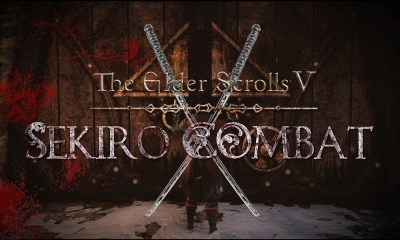 Um novo mod de Skyrim substitui o sistema de combate do jogo por um baseado no de Sekiro, apresentando todas as mecânicas do jogo.
