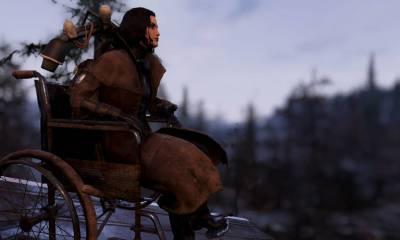 Uma jogadora do Fallout 76, graças à última atualização, ganhou a cadeira de rodas dentro jogo, a qual ela pediu há um mês.