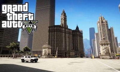 Um grupo de modders está construindo uma réplica de Chicago em GTA 5, gracãs os rumores de que a cidade pode ser um local para o GTA 6.