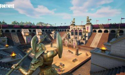 Um novo vazamento de Fortnite revelou que o Colossal Coliseum está para mudar, junto com uma série de mudanças no mapa da 5ª temporada.