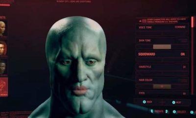 Um jogador usou o criador de personagem do Cyberpunk 2077 para transformar V em ninguem menos do que o meme do Belo Lula Molusco.