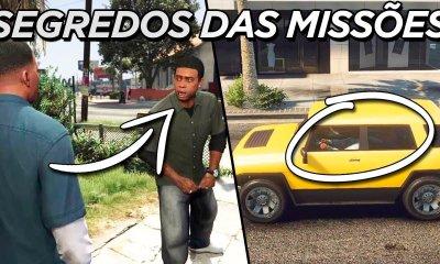 """GTA 5   Segredos das missões """"Franklin/Lamar"""", """"Retomada de Posse"""" e """"Agravantes"""""""