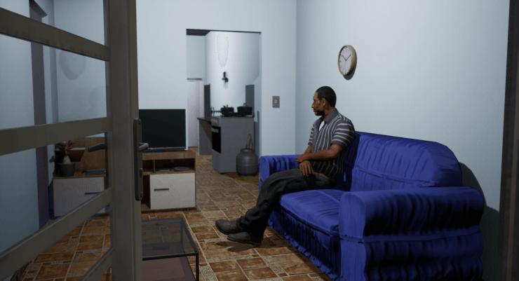 Ao visitar uma casa, os integrantes podem reagir de várias maneiras diferentes.