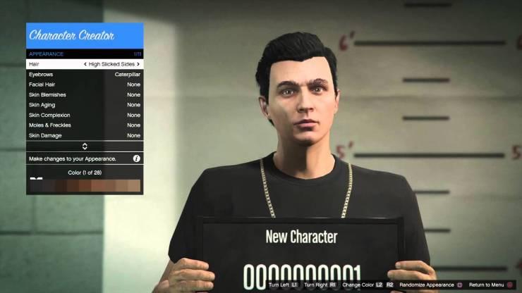 Ao criar um personagem no GTA Online não dá para aumentar a altura do mesmo.