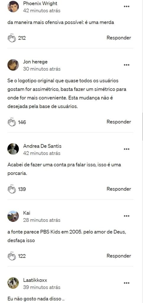 Alguns comentários no blog oficial do Discord (Traduzido para PT-BR)