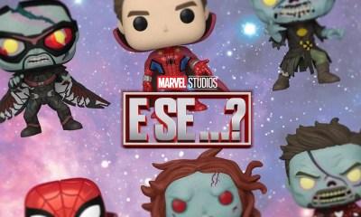 What If…? introduziu os Zombies da Marvel, com isso, a Funko em parceria com a Marvel criaram Funko Pops temáticos deste episódio.