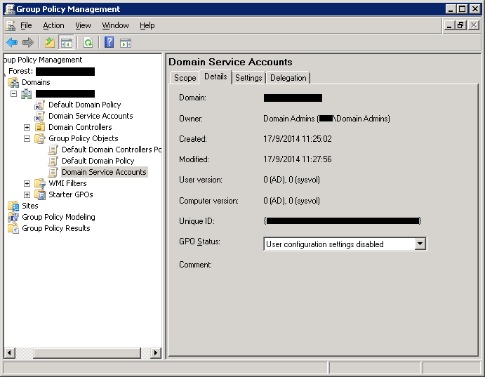 Deny Interactive Logon for Windows Service Accounts on Domain Network (4/6)