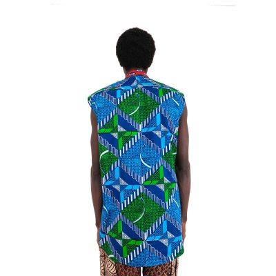 Sleeveless African shirt VDSSL6