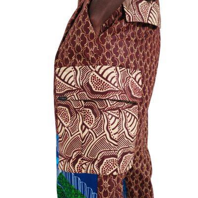 African Print Pants For Men VDCP8
