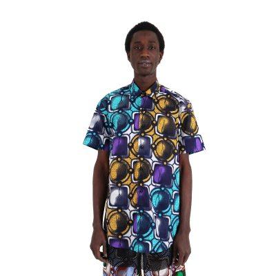 rican multi-color shirt VDDS5