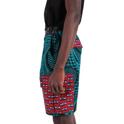 African print short VDBS9