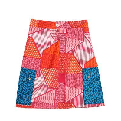 African Prints Skirt VDPG25