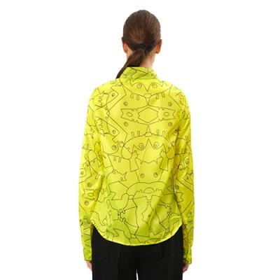 Atade Oba Classic Cotton Shirt SH001-YLW/BK