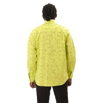 Atade Bema Poplin Cotton Shirt SH011-YLW