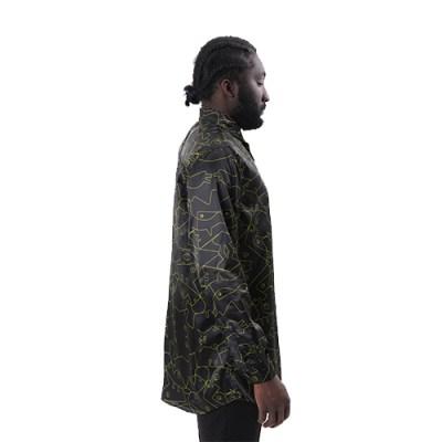 Mmiennu Cotton Shirt SH013-BLK