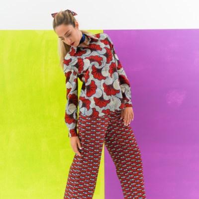 Camicia manica lunga donna fleur de mariage 003FR