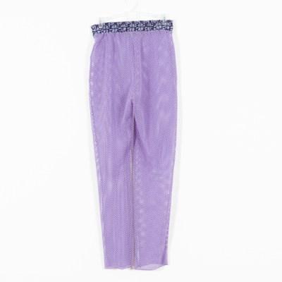 Pantalone rete lilla 037A