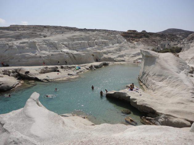 Sarakiniko, ilha de Milos