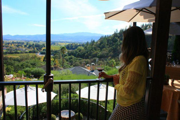 Almoço harmonizado com vinhos em Napa Valley