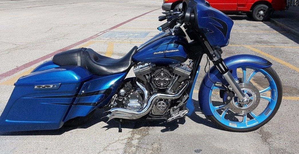 custom harley motorcycle parts at