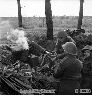 2nd Bn, Middlesex Regiment - Holland, 1944