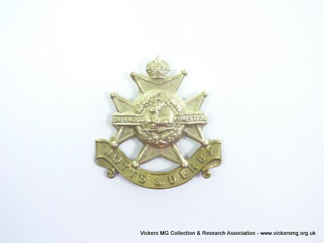 Sherwood Foresters (Nottinghamshire & Derbyshire Regiment)