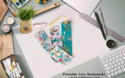 Artsy and Easy Bookmark Gift Project