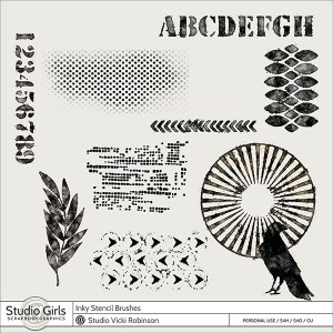 Inky-Stenci-Brushes