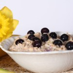 Oatmeal with ground flax