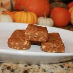 Pumpkin Peanut Butter Protein Bars