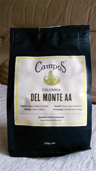 Campos Coffee: Del Monte AA