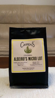 Campos Coffee: Albeiro's Micro Lot