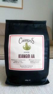 Campos Coffee: Kiangoi AA