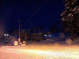 View from Overnight Bus Window: Another Ski Field