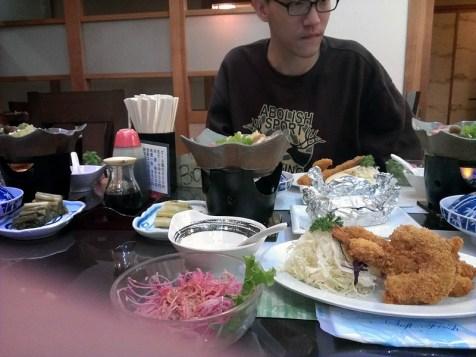 Yamasanso: Day 1 Dinner