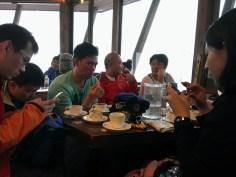 Day 2: Group Break in Cafe