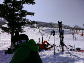 Day 3: Group Break on Snow