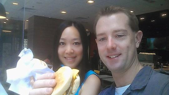 Day 6: Hong Kong McDonald's Selfie