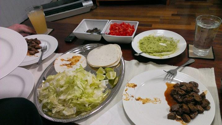 Taco Night: Lamb