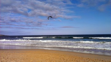 Cronulla Beach: Kitesurfer