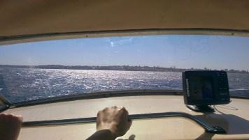 Jibbon Beach: Way Back on the Boat