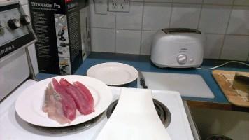 Fresh Fish Sushi: The Filleted Fish