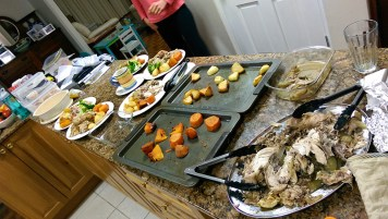 Roast Chicken and the Rest of the Dinner