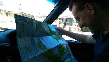 Blackheath Weekend Day 1: Reading Paper Map